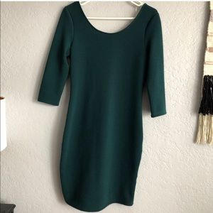 Everly Dark green dress
